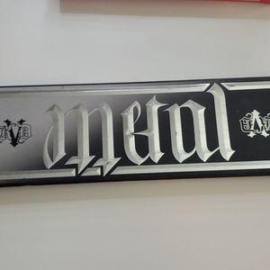 KVD Metal Matte Palette